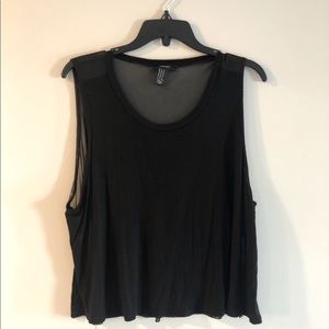 Forever 21 Tank with Mesh Back